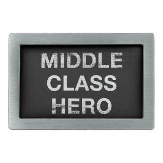 Héroe de la clase media hebilla de cinturón