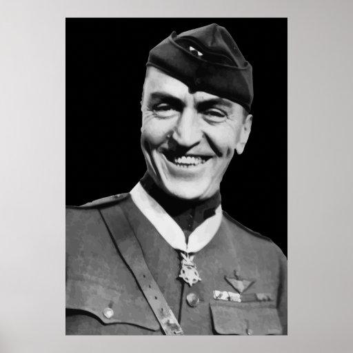 Héroe de la guerra -- Eddie Rickenbacker Póster