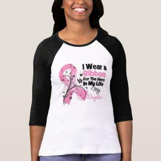 Héroe de la hija en mi cáncer de pecho de la vida playeras
