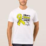Héroe de la hija en mi sarcoma de la vida camiseta