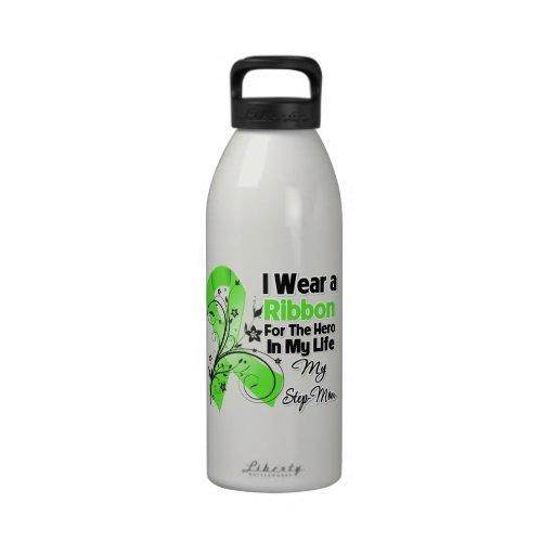 Héroe de la madrastra en mi cinta del linfoma de l botella de agua