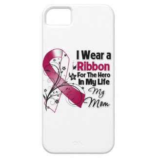 Héroe de la mamá en mi cáncer del cuello de la funda para iPhone SE/5/5s