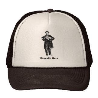 Héroe de la mandolina gorra