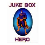 ¡Héroe de la máquina tocadiscos! Tarjeta Postal