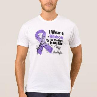 Héroe de la nieta en el linfoma de mi Hodgkin de l Camiseta