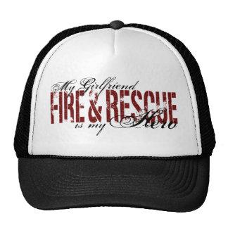 Héroe de la novia - fuego y rescate gorras