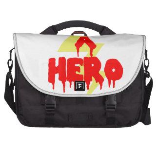 Héroe de la película del culto bolsas de portátil