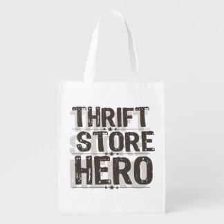 Héroe de la tienda de descuento bolsa para la compra