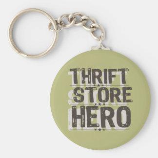 Héroe de la tienda de descuento llaveros personalizados