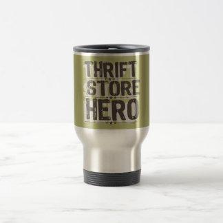 Héroe de la tienda de descuento taza térmica