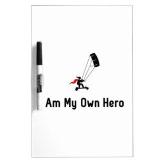 Héroe de Landboarding Pizarras Blancas