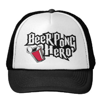Héroe de Pong de la cerveza Gorro
