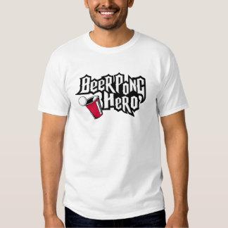 ¡Héroe de Pong de la cerveza! Remera