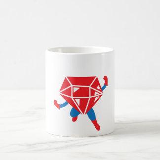 Héroe de rubíes taza de café