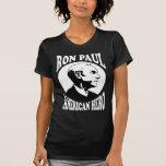 Héroe del americano de Ron Paul Camiseta