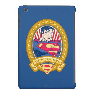 Héroe del americano del superhombre fundas de iPad mini retina
