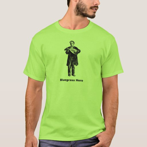 Héroe del Bluegrass Playera