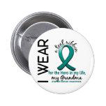 Héroe del cáncer ovárico en mi abuela 4 de la vida pin