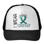 Héroe del cáncer ovárico en mi mejor amigo 4 de la gorras