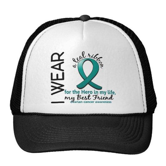 Héroe del cáncer ovárico en mi mejor amigo 4 de la gorra