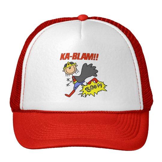 Héroe del chica de Blam de ka Gorros Bordados