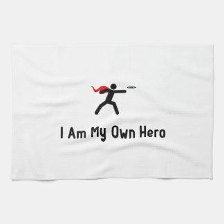 Héroe del disco de vuelo toallas de cocina
