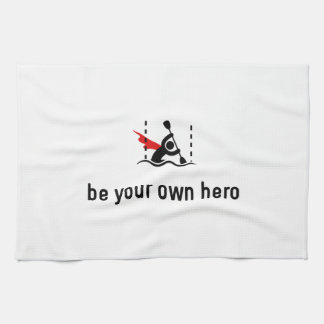 Héroe del eslalom de la canoa toalla