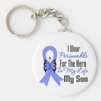 Héroe del esófago de la cinta del cáncer mi hijo llavero