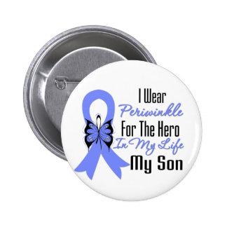 Héroe del esófago de la cinta del cáncer mi hijo pin