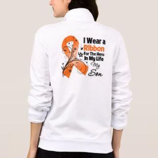Héroe del hijo en mi leucemia de la vida chaqueta
