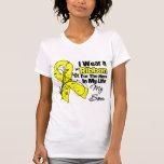 Héroe del hijo en mi sarcoma de la vida camiseta