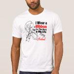 Héroe del marido en mi cáncer de pulmón de la vida camisetas