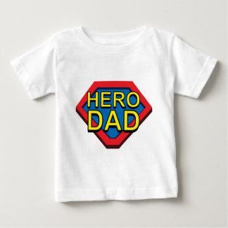 Héroe del papá tshirts