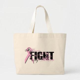 Héroe del primo - cáncer de pecho de la lucha bolsas de mano