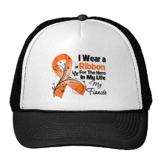 Héroe del prometido en mi leucemia de la vida gorras