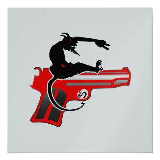 """Héroe del tiroteo invitación 5.25"""" x 5.25"""""""
