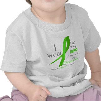 Héroe en mi vida - linfoma de la abuela camisetas