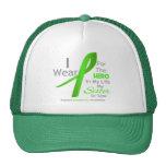 Héroe en mi vida - linfoma de la cuñada gorros bordados
