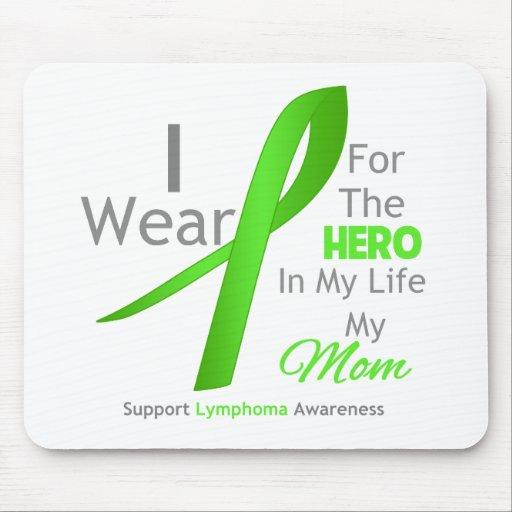 Héroe en mi vida - linfoma de la mamá mousepad