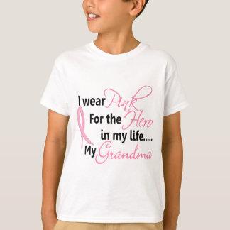 HÉROE EN MI VIDA, MI ABUELA 1 del cáncer de pecho Playera