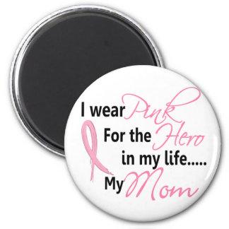 HÉROE EN MI VIDA, MI MAMÁ 1 del cáncer de pecho Imán Redondo 5 Cm