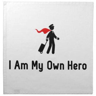 Héroe experimental servilleta de papel