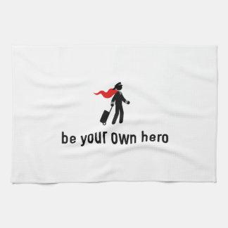 Héroe experimental toallas de cocina