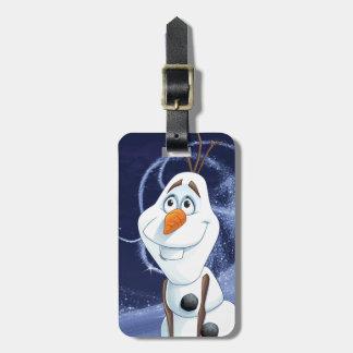 Héroe fresco de Olaf el   pequeño Etiquetas Bolsa