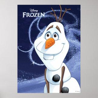 Héroe fresco de Olaf el | pequeño Póster