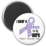 Héroe - general Cancer Ribbon Imanes