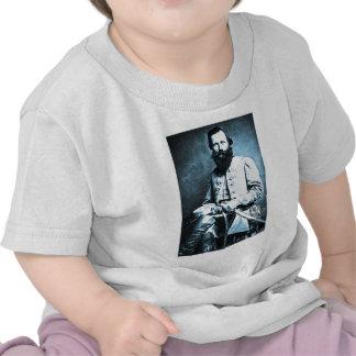 Héroe general de J.E.B. Estuardo Confederate Camisetas