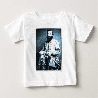 Héroe general de J.E.B. Estuardo Confederate Playera De Bebé