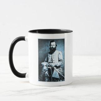 Héroe general de J.E.B. Estuardo Confederate Taza