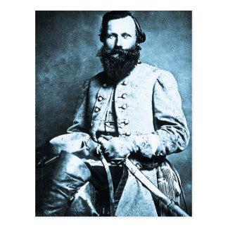 Héroe general de la guerra de J.E.B. Estuardo Postales